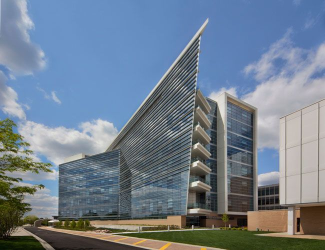 Northwest Community Hospital South Pavilion | Cannon Design | Slide show | Architectural Record