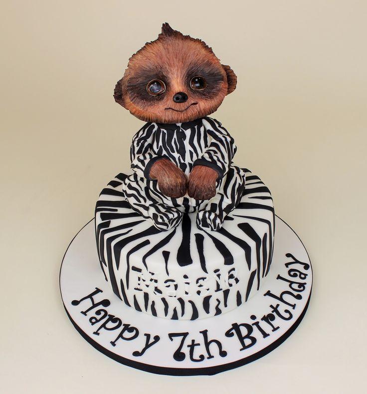 Baby Oleg meerkat cake
