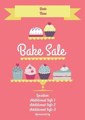 Show products in category Bake Sale