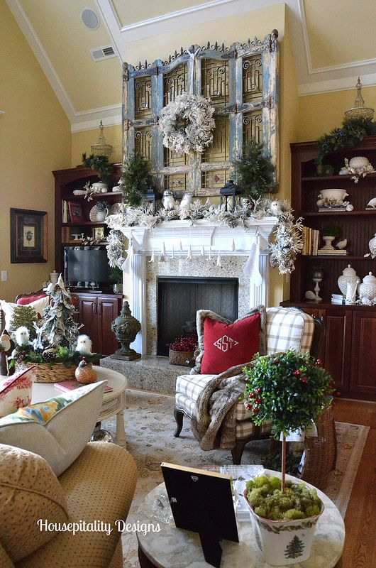 Great Room Christmas 2014 Housepitality Designs Part 70