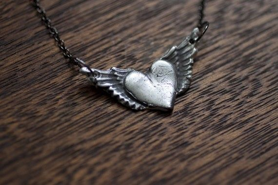 $55 from Etsy. My grandma used to draw hearts with wings on the letters she sent me.