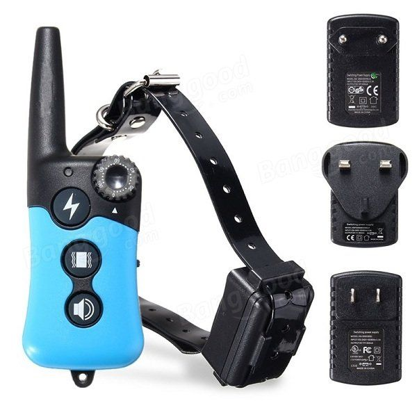 E-Collar Rechargeable Remote Shock Collar Waterproof Dog Training Collar Electric Pet Callar at Banggood