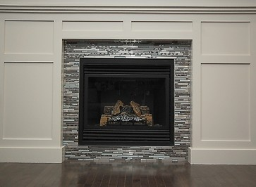 Mosaic Tile Fireplace Mosaic Tile Fireplace Design Ideas Pictures