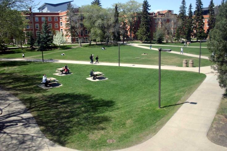 UAlberta Quad    University of Alberta, Edmonton, Alberta, Canada