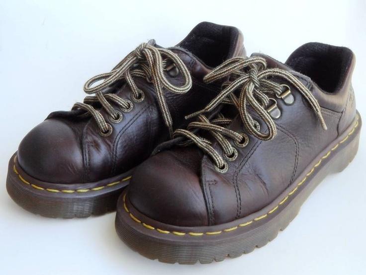 DOC Dr. Martins 8312 Womens Size 7 / 38 LACE UP Brown OXFORDS Flex Link BEX Sole | eBay