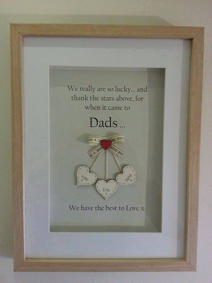 Dad's day idea