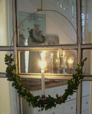 min lilla veranda: Trevlig Lucia!!