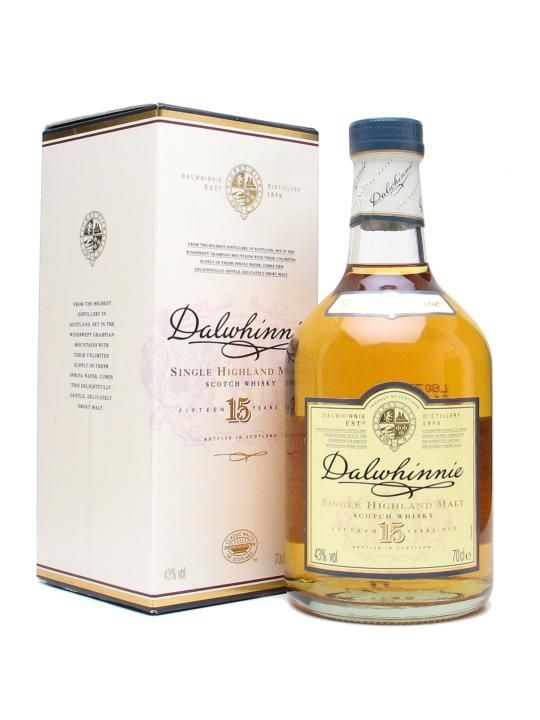 'Speyside' in Classic Malts series: elegant, smooth and medium-bodied, with a light, fruity palate and a whiff of heather on the finish. Heather, cinnamon, pear, honey, toffee.