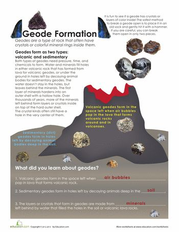 ... on Pinterest | The rock, Plate tectonics and Comprehension worksheets