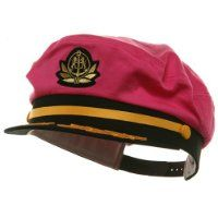 Adjustable Captain Hat-Pink Flagship W39S25C