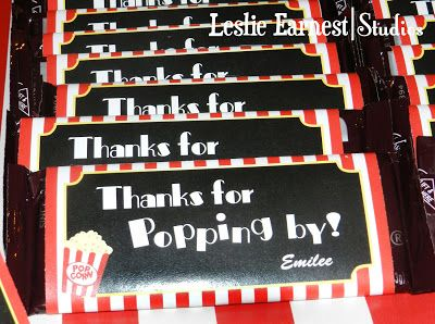 Leslie Earnest Studios: Movie Theme Party
