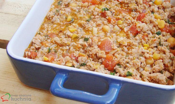 moja smaczna kuchnia: Pikantna wieprzowina w pomidorach