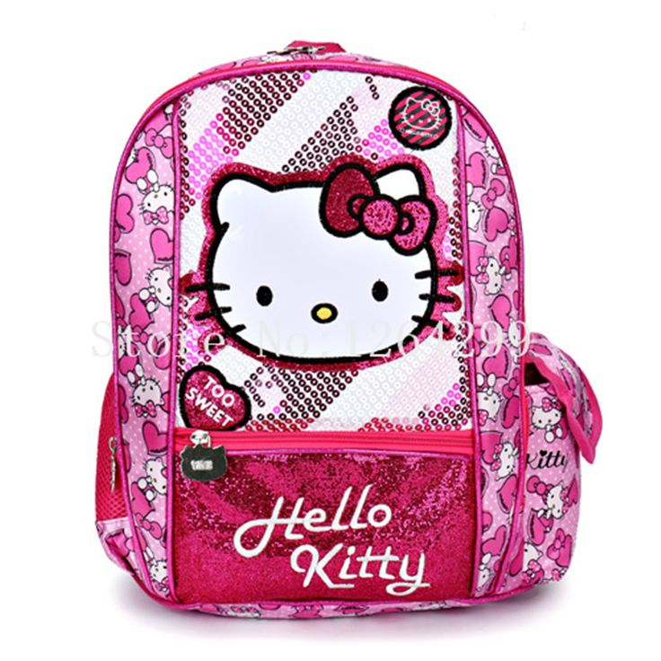 Cheap school bags, Buy Quality school fashion bags directly from China bags for children Suppliers: New Fashion Hello Kitty Girls Oxford School Bags Kids Cartoon Backpack Bag For Children