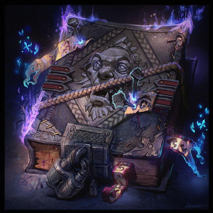 Magic book by armandeo64.deviantart.com on @deviantART