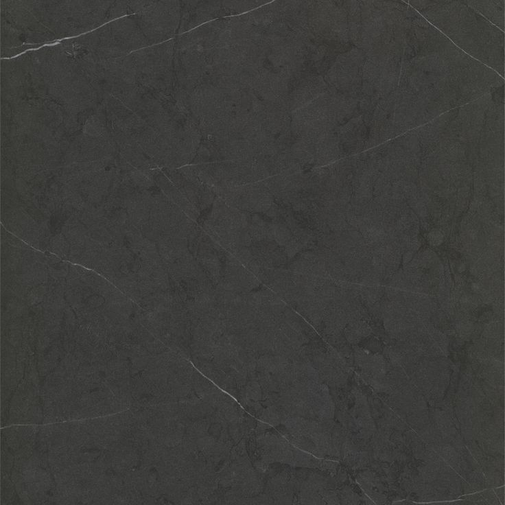 ATHENA STONE MATERA - A near-black marble with subtle black veining throughout and fine white vein highlights