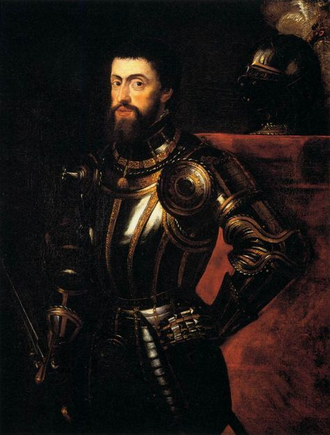 Charles V -Holy Roman emperor and king of Spain as Charles I. -He summoned the Diet of Worms and the Council of Trent. -He was a supporter of Catholicism.
