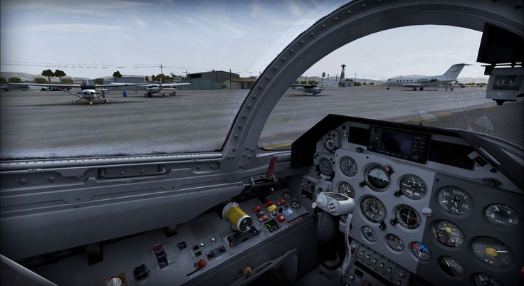 Twentynine Palms KNTP - 29Palms - review (6*) • C-Aviation #FSX #Review #29Palms #KTNP #USA #California #L-39