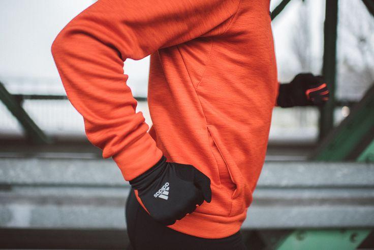 Rękawiczki Adidas Running Climawarm Gloves  #Adidas #Run #Running #Runners #Lookbook #Bieganie #Sport