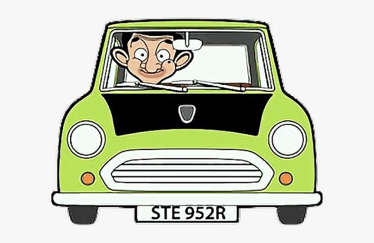Mini Clipart Mr Bean Car - Mr Bean Cartoon Car, HD Png ...