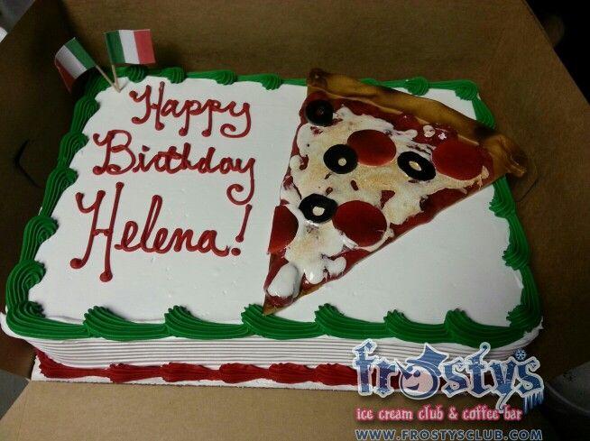 Cake Ice Cream Pizza : 100 best images about Ice Cream Cakes on Pinterest Elsa ...