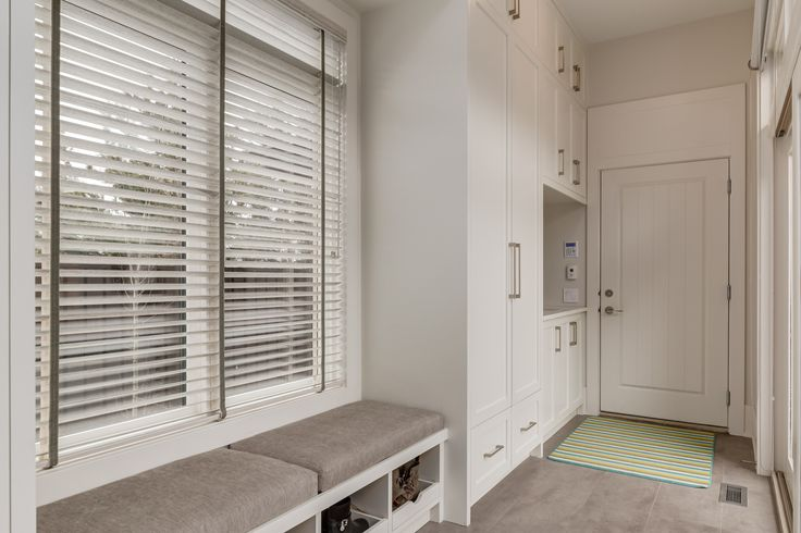 Contemporary Mudroom by Johnson & Associates Interior Design