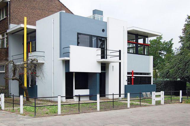 Chapter 23 de stijl architecture schroder house for De stijl architettura