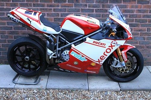 First finished Ducati 998RS finished project.