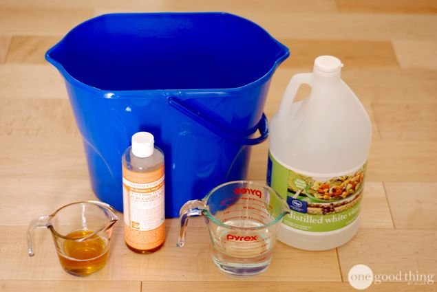 DIY Cleaning Solution for Wood Floors