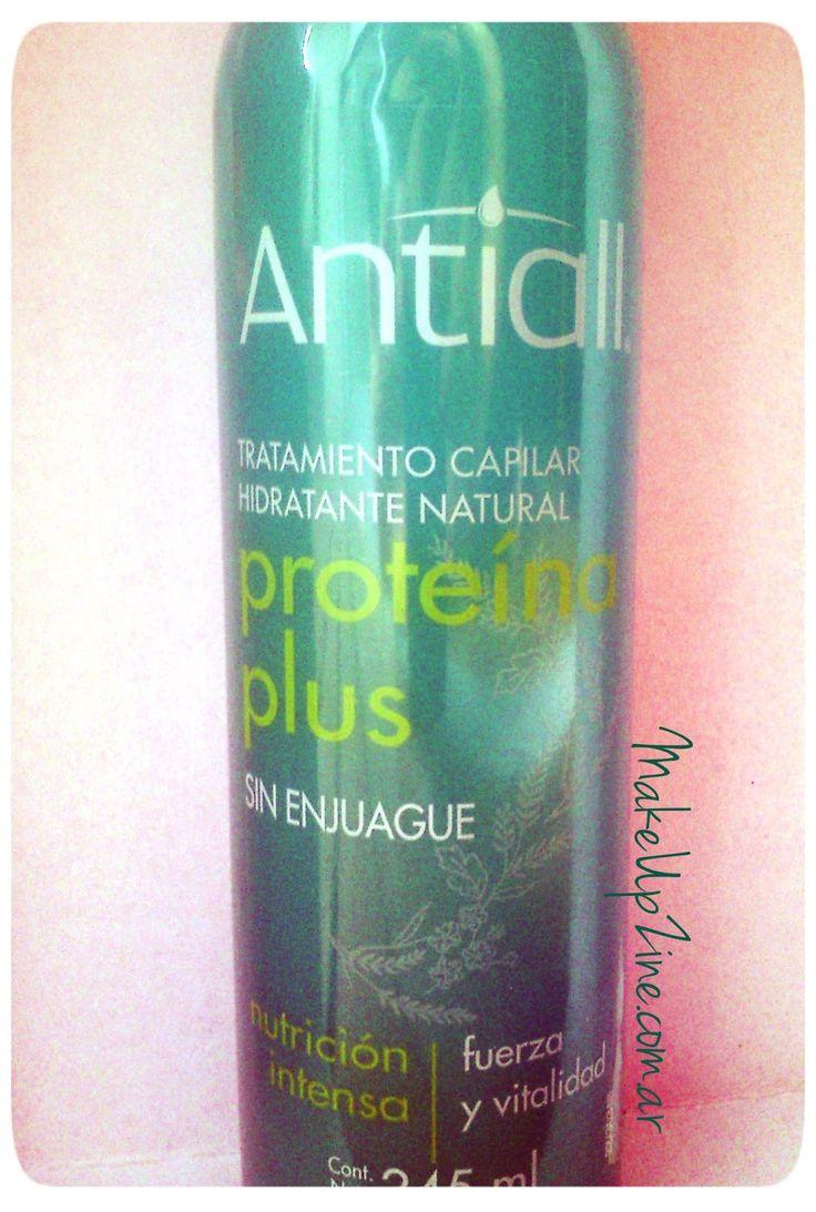 MakeUpZine: Mi aliado contra el frizz: Proteína Plus de Antiall.