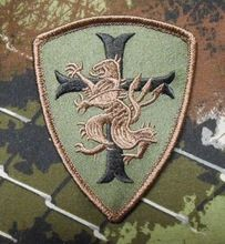 2 stk/partij Navy seal team 6 Devgru Lion cross crusader shield Klittenband Militaire badges Tactische bos VS leger patches(China (Mainland))