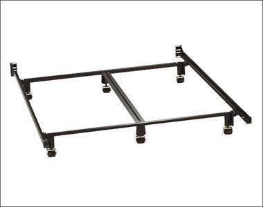 Milliard 6 Legged Super Heavy Duty King Size Metal Bed