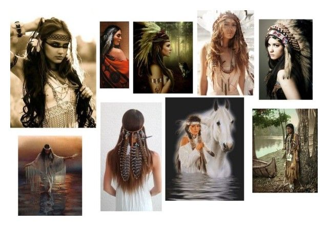 """""""Native American Princess (Red Indian)"""" by love2shop123 on Polyvore"""
