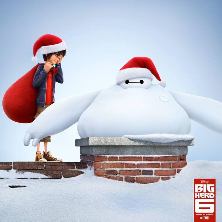 Christmas for Hiro Hamada and Baymax   Big Hero 6   Pinterest ...