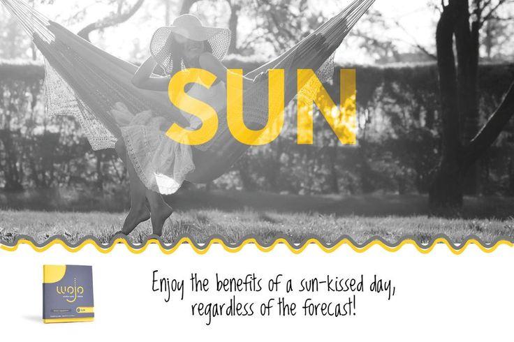Pocket your own ray of sunshine with #wojoSUN! #wojo #sunshine