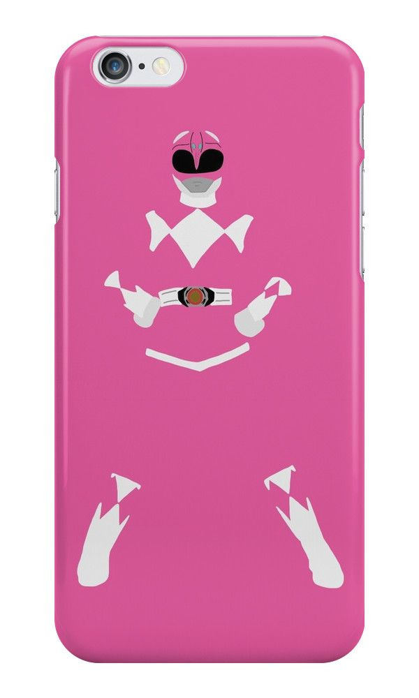 Mighty Morphin Power Rangers Pink Ranger iPhone Case