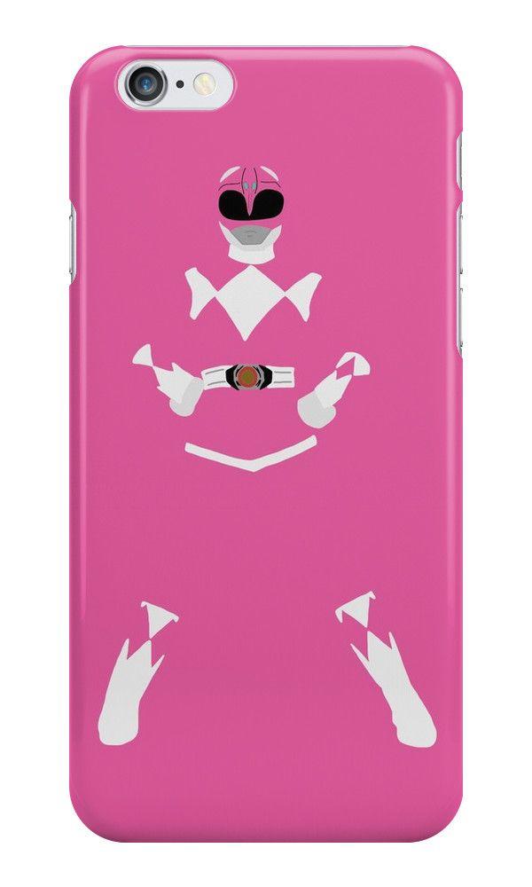 Mighty Morphin Power Rangers Pink Ranger iPhone Case