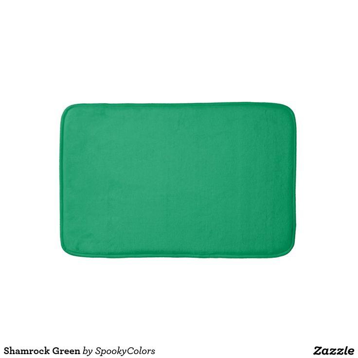 Shamrock Green Bath Mat
