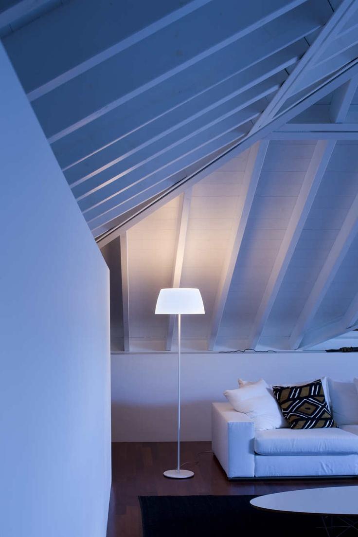#Ginger floor #lamp by #Prandina www.prandina.it laluce Licht&Design Chur