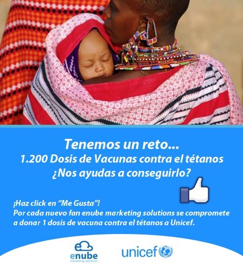 Tenemos un reto, 1200 vacunas, participa y ¡Ayúdanos a conseguirlo!