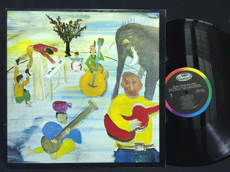 THE BAND LP Music From Big Pink ORIGINAL PRESS Capitol SKAO-2955