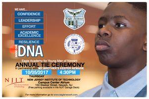 Eagle Academy Newark Annual Tie Ceremony
