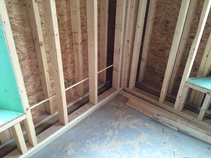 Double-Stud Wall Framing | Stud walls, Frames on wall, New ...