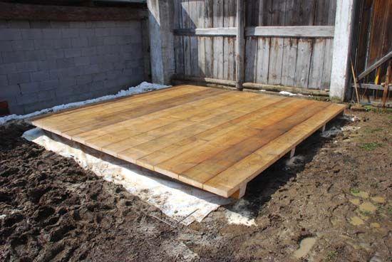 Staviame základňu pod záhradný domček - Dielňa prakticky