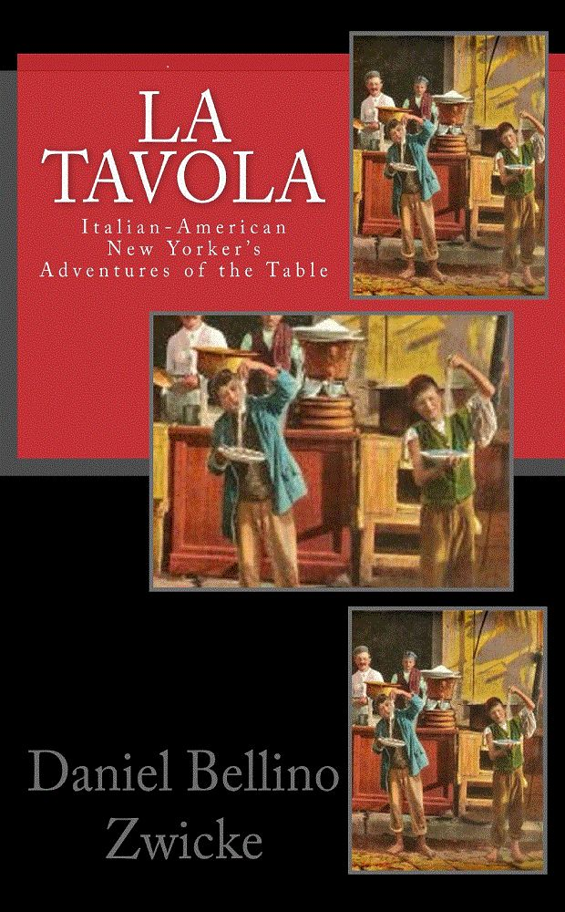 """""""LA TAVOLA"""" ITALIAN-AMERICAN NEW YORKER'S ADVENTURES of THE TABLE .. One of the Best Books ever written on the subject of Italian-American Food, Cuisine, and thee Italian American lifestyle. Read about Sunday Sauce, The famous Italian American Christmas Eve ritualistic dinner """"The Feast of The 7 Fish"""" Linguine with Clam Sauce, Spaghetti Bolognese, Meatball Parm Sandwiches, Espresso, Lasagna, and all the great Foods. $4.99 http://www.amazon.com/La-TAVOLA-ebook/dp/B008FQZ4LG"""