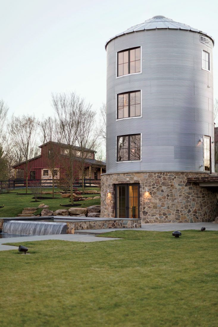 Tour This One Of A Kind Weekend Escape Silo House Barn