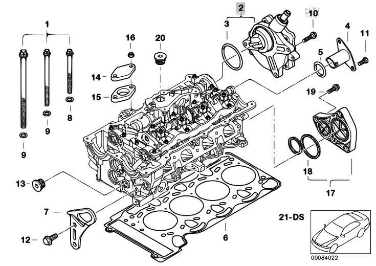 bmw engine diagram e46 cylinder