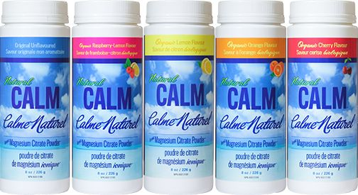 Natural Calm Magnesium Citrate Powder - Plain Flavour - Natural Calm Canada