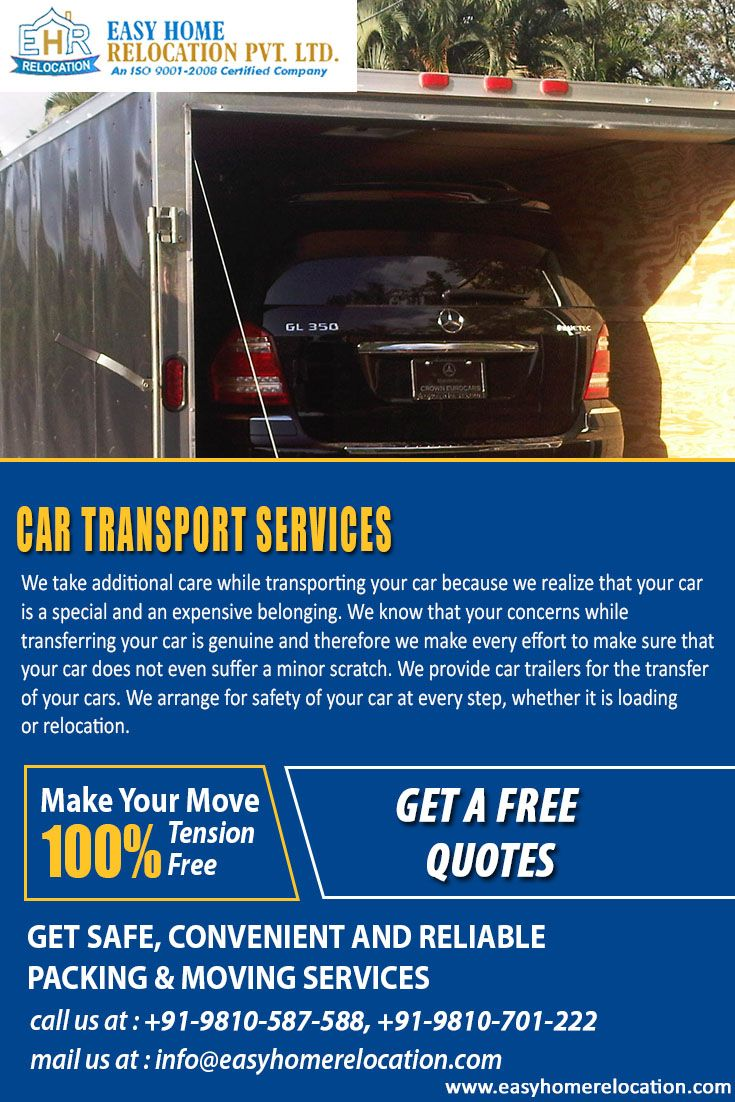 Easy Home Relocation Make Sure That Your Dear Car Will Deliver Safely On Your Desired Location. Get Free Quotation Here:http://bit.ly/2ezNuFn