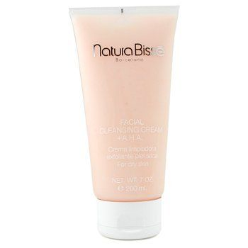 Facial Cleansing Cream + AHA ( For Dry Skin ) - Natura Bisse - Cleanser - 200ml/7oz by Natura Bisse. Save 39 Off!. $49.56. Free Shipping. A foam cleanser formulated for dry skin Removes all traces of make up & impurities on skin surface AHA provides gentle yet effective exfoliation to renew skin texture Allantoin, Aloe Vera & botanical extracts calm & decongest skin Leaves skin clean, soft, supple & luminous Also preps skin to absorb most benefits of skin care products to follow - Natura…