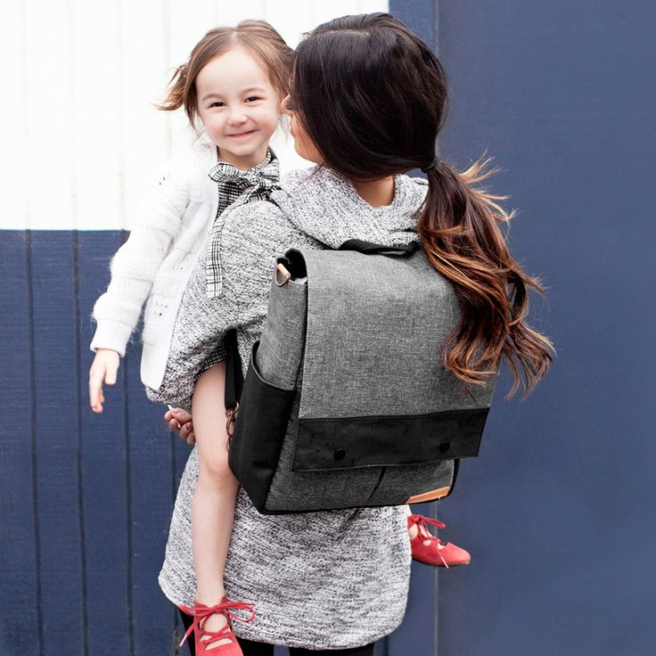 Petunia Pickle Bottom Diaper Bag Pathway Pack Graphite/Black #laylagrayce